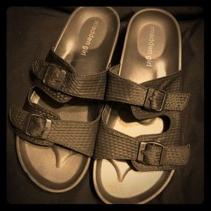 Black Madden Girl Sandals